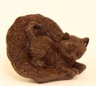 Шоколадный котёнок в шляпе